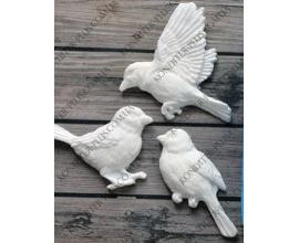 молд 3 птички 3-3,5 см