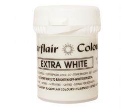 белая  паста Sugarflair EXTRA WHITE, 50г