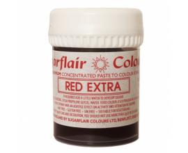 красная паста Sugarflair  RED EXTRA STRENGTH, 42г