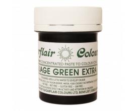 Зеленая  паста Sugarflair FOLIAGE GREEN EXTRA, 42г