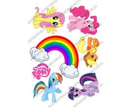 вафельная картинка My little pony № 7