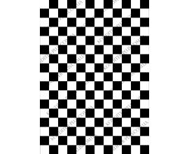 вафельная картинка черно-белая клетка