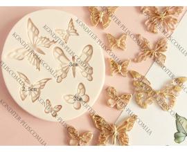 молд бабочки, 1,5-4 см