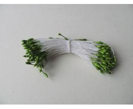 тычинки 1 мм - салатовые