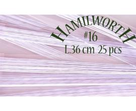 Проволока белая Hamilworth №16