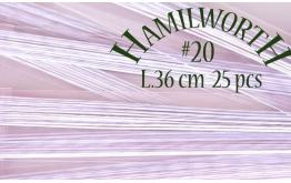 Проволока белая Hamilworth №20, 50 шт