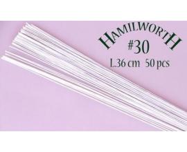 Проволока белая Hamilworth №30