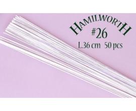 Проволока белая Hamilworth №26