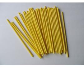 """палочки для кейк-попсов """"желтые"""""""