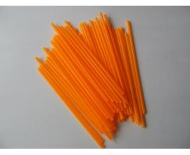 """палочки для кейк-попсов """"оранжевый электрик"""""""