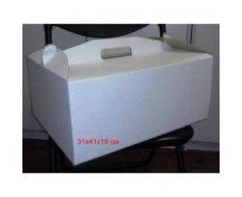 Коробка для торта, 31*41*18см