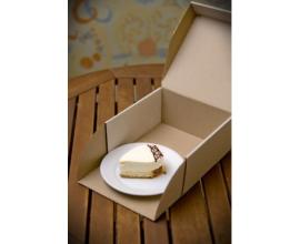 Коробка для торта, 177*177*83мм